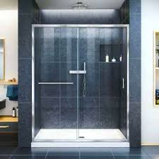 infinity z to 60 glass shower door halo clear chrome by maax n