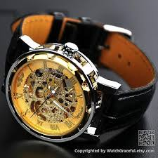 17 best images about watches michael kors men moon watch men s watch steampunk watch leather watch by watchgraceful
