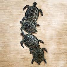 outdoor metal turtle wall art elegant sea indoor