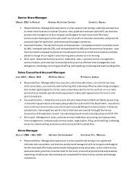Alex Harderson Resume 2-15-15