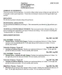 College Resumes Utsa College Student Resume College Student