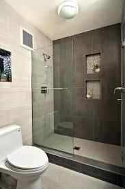 modern bathroom tile ideas grey white bathroom walk in shower designs decoration using grey concrete tile bathroom walls including clear glass