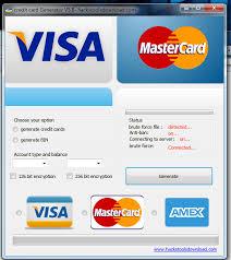 Credit Carte De Generateur Card mastercard Programmes Gratuit Free Telecharger Visa - Generator Générateur Des Bancaire