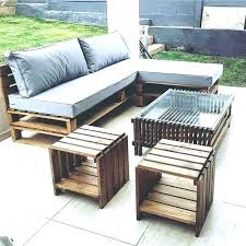 patio patio furniture made of pallets chairs out from recycled wood wooden outdoo