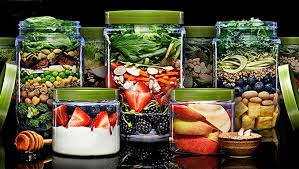 Chicago Salad Vending Machine Simple Farmer's Fridge Mediterranean Mason Jar Salad Delicious Living