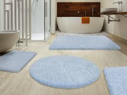 Thick Bathroom Rugs Fluffy Bathroom Rugs Sky Blue 6 Sizes Available