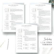 Modern Resume Templates Download Modern Cv Template Word