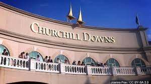 auction track churchill auction spots for people to run on its track