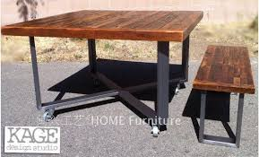 industrial style outdoor furniture. Outdoor Antique Industrial / Modern Style Recycled Wood Picnic Table , The Old Pine Table-in Hammocks From Furniture On Aliexpress.com | Alibaba Group
