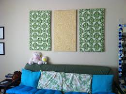 diy fabric wall art panels intended for well known wall art decor ideas canvas separated