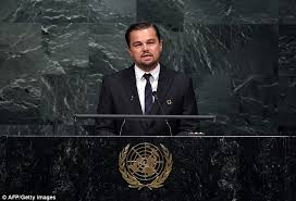 leonardo dicaprio gives impassioned speech about climate change at un messenger of peace leonardo dicaprio addresses the united nations opening ceremony of the high