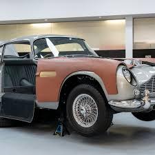 Bond Fans Look Forward To Driving Goldfinger Aston Martin Aston Martin The Guardian