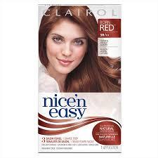 Clairol Nicen Easy Born Red Permanent Hair Color 5r 111 Natural Medium Auburn 1 Kit