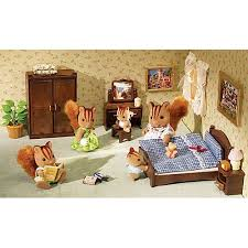 Calico Critters Master Bedroom Set.
