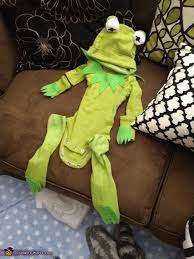 the costume kermit the frog baby costume