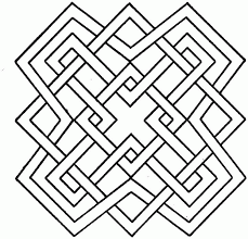 Printable Coloring Pages geometric shape coloring pages : Simple Geometric Coloring Pages - Coloring Home
