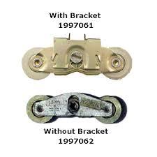 andersen perma shield gliding door steel tandem roller assembly w bracket 1982 present