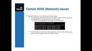 Kaseya Support: TechJams: Discovery ...