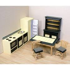 Dollhouse Kitchen Furniture Melissa Doug Dollhouse Kitchen Furniture Reviews Wayfair