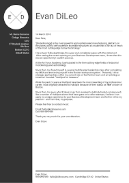 017 Business Letter Cover Letters Proposal Stunning For