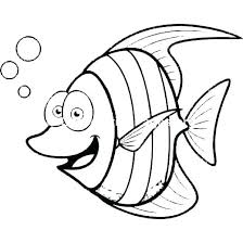 Fish Color Pages Coloring Tropical Fish Coloring Page Color Pages