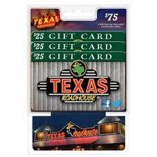 To check your ben & jerry's gift card balance online, here's what you go to do Texas Roadhouse 75 Value Gift Cards 3 X 25 Sam S Club
