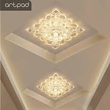 <b>Artpad</b> Chinese Style Square <b>Ceiling Lights</b> Acrylic Lampshade ...