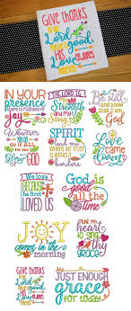 Free Machine Embroidery Sayings Designs Soulful Sayings Set 1 Embroidery Designs Machine
