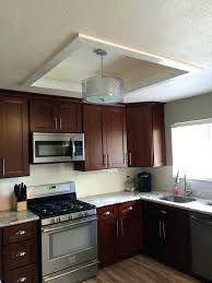 replace fluorescent light replace fluorescent light fixture in kitchen ideas and incredible cover