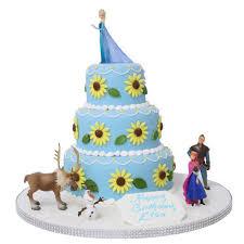 Frozen Fever Elsas Birthday Cake Birthday Cakes The Cake Store