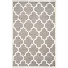 safavieh amherst dark grey indoor outdoor rug 6 x 9