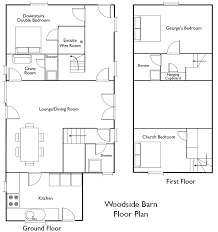Horse Barn Plans And Design  DC BuildersBarn Plans With Living Quarters Floor Plans