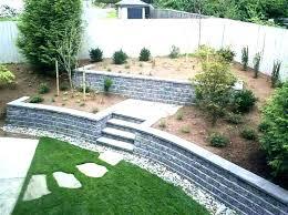 retaining wall blocks for craigslist retaining wall ideas choosing materials for garden walls easy inexpensive blocks retaining wall