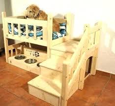 wooden dog bed diy large beds plans frame bunk best design interior pet raised with steps wooden crate dog bed diy