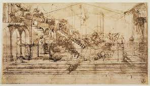 Leonardo da vinci was entirely aware of the potential impact his inventions could make on the world. Perspektive Studie Fur Den Hintergrund Der Anbetung De 80286
