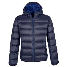 Equiline Gerry Mens Down Jacket Blue