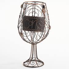 new view wine glass cork holder