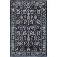 oriental weavers richmond 8020k navy grey area rug