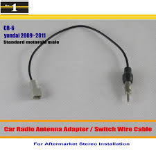 online buy whole hyundai accent radio wiring from for hyundai accent azera elantra equus genesis car radio antenna adapter aftermarket stereo antenna