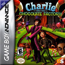 play charlie and the chocolate factory nintendo game boy advance  charlie and the chocolate factory nintendo game boy advance cover artwork