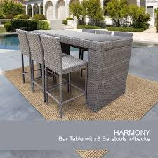 full size of piece bar outdoor wicker set design furnishings likable rattan stools table and furniture