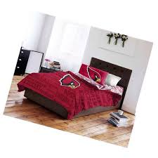 arizona cardinals bed in a bag complete bedding set