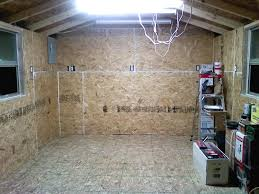 doubled the thickness of the floor with an extra layer of 3 4 osb studded the walls on 24 centers and covered with 7 16