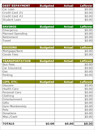 Budget For Young Adults Free Simple Budget Worksheet Basic Home Budget Com Simple