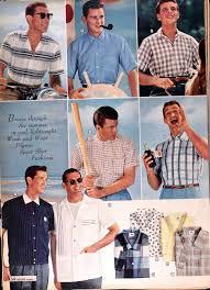 sears catalog spring summer 1958 men s sport shirts