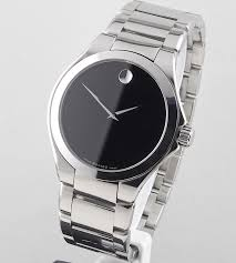 movado men s defio black museum dial stainless steel watch model movado men s defio black museum dial stainless steel watch model 16 1 14 1071