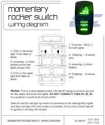 winch rocker switch green scootercrew scootercrew com utv Rocker Switch Wiring Diagram For Lights winch momentary green wire harness winch green rocker switch momentary Decor Rocker Light Switch Wiring Diagram