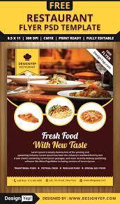 Shoe Drive Flyer Template Free Restaurant Flyer Psd Template Designyep