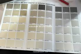 Eden Brae External And Internal Colour Selections Framed