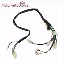 electrical main wiring harness wire loom plus connectors for yamaha Engine Wiring Harness at Pw50 Wiring Harness